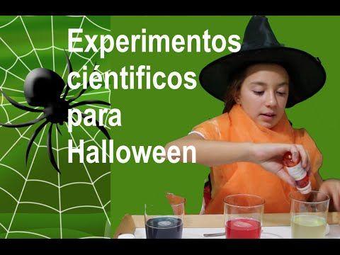 """Experimentos científicos 3: """"bomba"""" Halloween"""