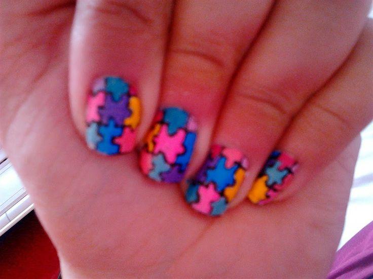 Cute Nail Designs - Simple Nail Art Video Tutorial Available at http://cutenaildesigns201.blogspot.com/2014/06/images-on-nail-art.html