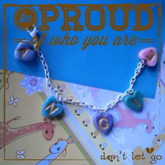 Cute braceley with request name