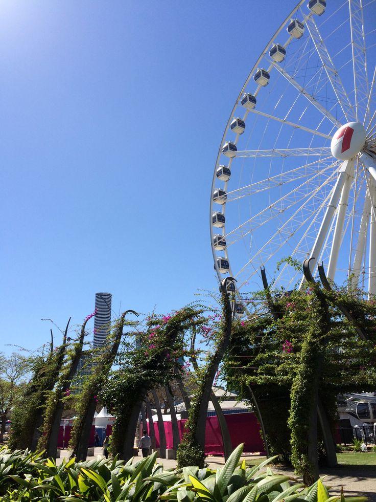 The Wheel of Brisbane at Southbank.