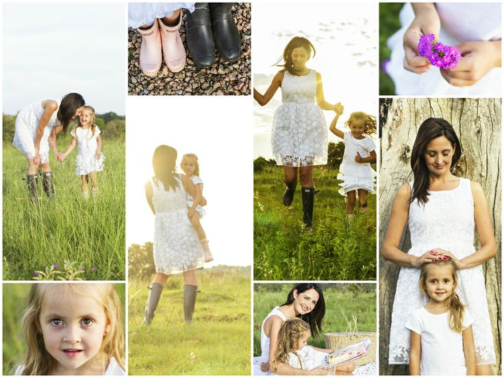 A mother daughter - on the farm - photo shoot. Centurion, South Africa