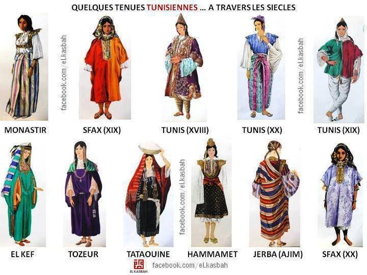 17 best images about traditional clothing tunis on