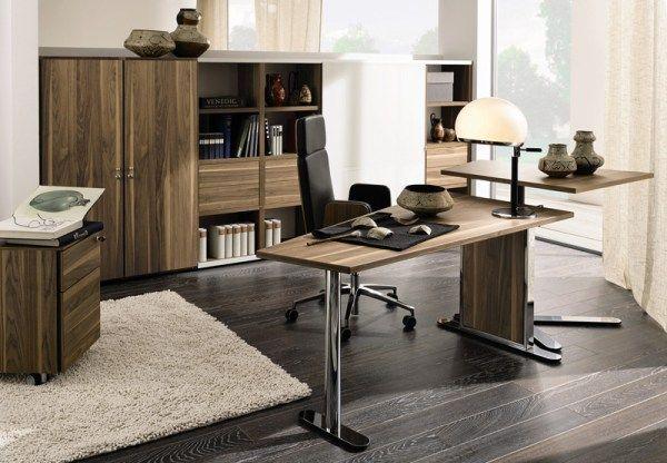 #homeoffice in a modern timber finish design