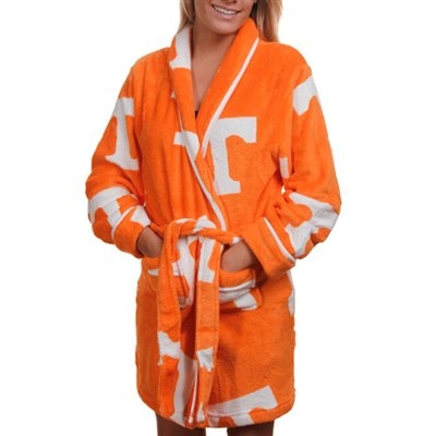 Tennessee Volunteers Ladies Tennessee Orange Logo Cozy Robe
