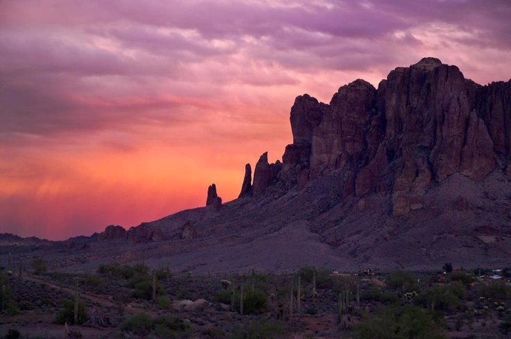 Superstition Mountains AZ   ~* www.cowgirlblondie.com *~