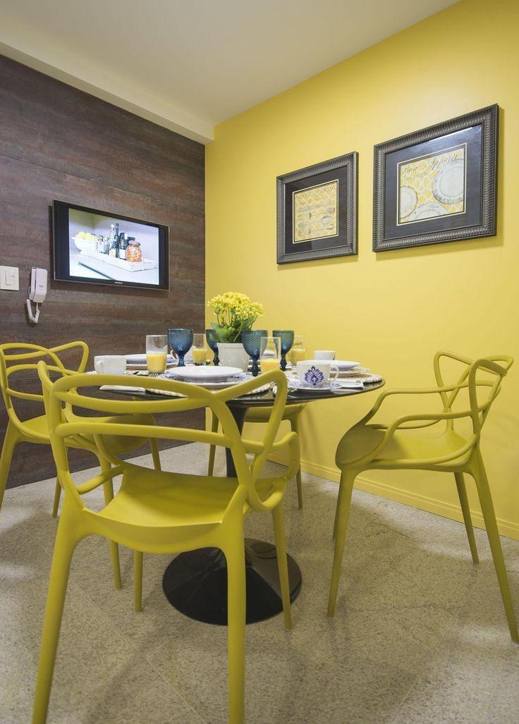 Gelbe Wande 60 Inspirationen Fur Ihr Dekor Neu Dekoration Stile Gelbe Wand Dekor Farbige Wande