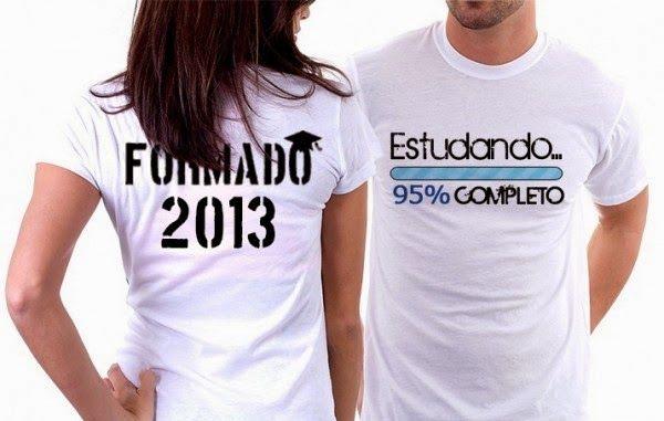 camisetas para formandos ideias