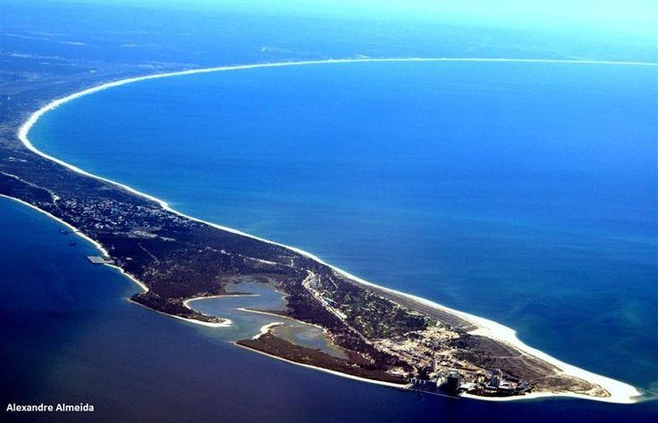 Troia peninsula - miles and miles of #sandyBeaches #Portugal