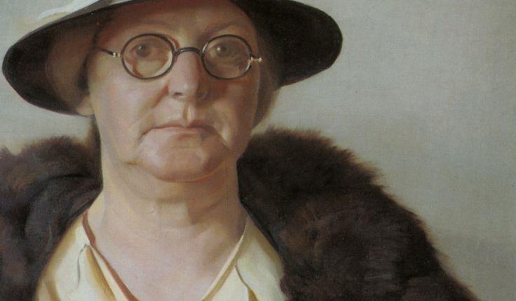 Eric Wilson, portrait of the artist's mother. Australian artist, 1936-7.