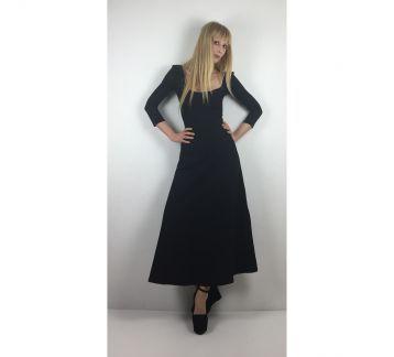 Siyah Phoebe Elbise Black Phoebe Dress
