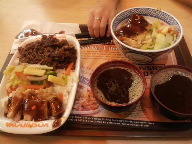 I'd totally love yoshinoya's miso