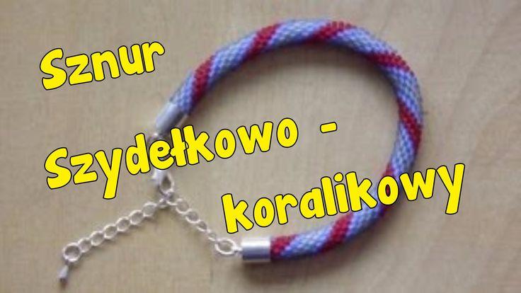 Bransoletka (sznur szydełkowo-koralikowy) - Szydełkowanie bez tajemnic