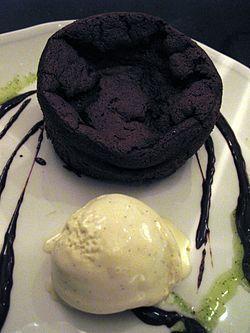 Flourless Chocolate Cake with Bourbon Vanilla Ice Cream.jpg