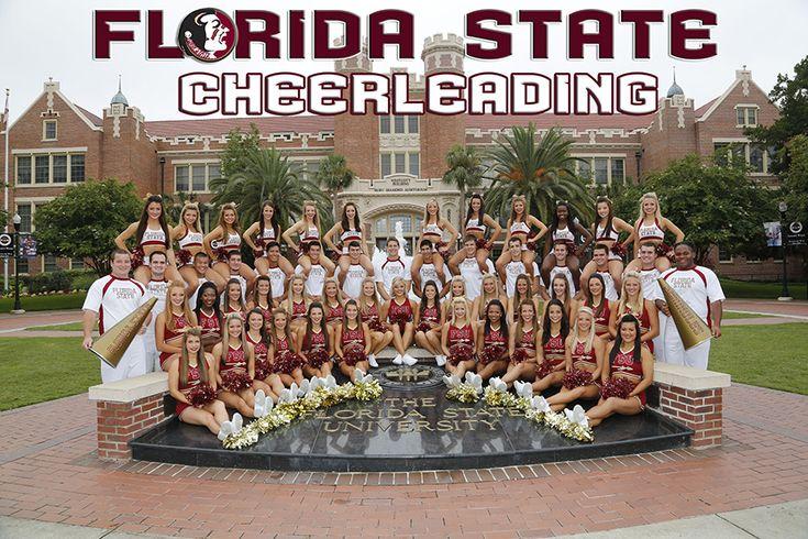 Seminoles cheerleading! Go, Noles!