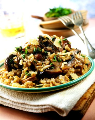 authentic Italian food risotto