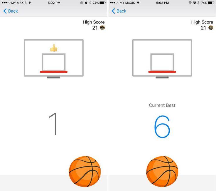 Facebook Messenger Has A Hidden Basketball Game, Here's How You Play