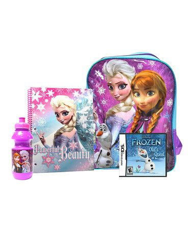 Awesome deal! Frozen Video Game for Nintendo DS & Accessory Set $29