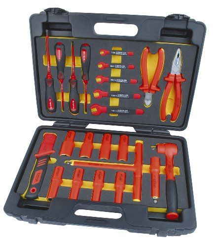24-pcs. VDE GS-ApprovedUp to 1000VHight Quality VDE Tools