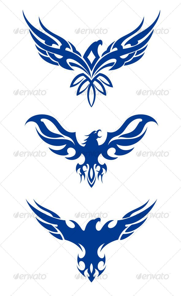 tribal eagles — JPG Image #wildlife #patriotism • Available here → https://graphicriver.net/item/tribal-eagles/63754?ref=pxcr