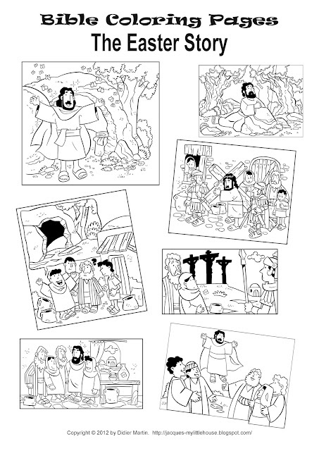 easter story coloring pages | Printable Easter story coloring pages | Easter colouring ...