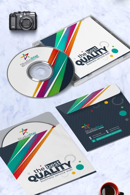 Creative CD Label - Corporate Identity