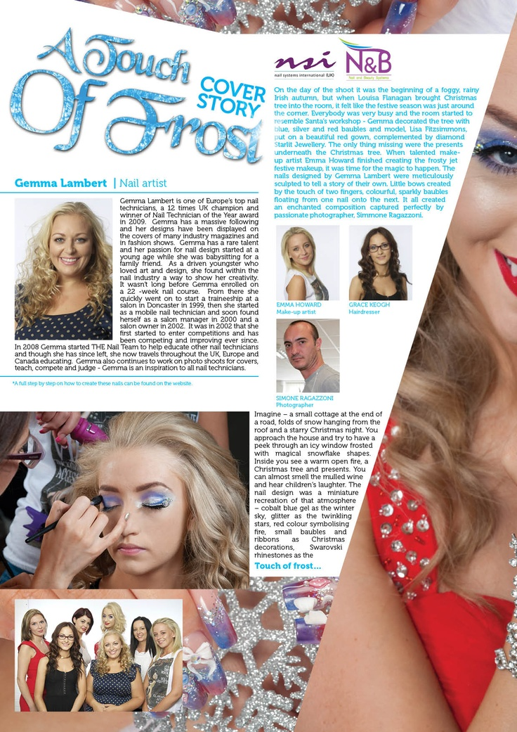 Issue 4 A Touch Of Frost   Gemma Lambert