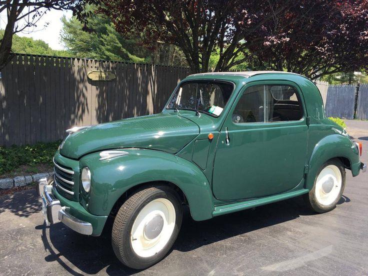 1950 Fiat 500C Topolino =_= Cute-T-Pe-Tootey !!