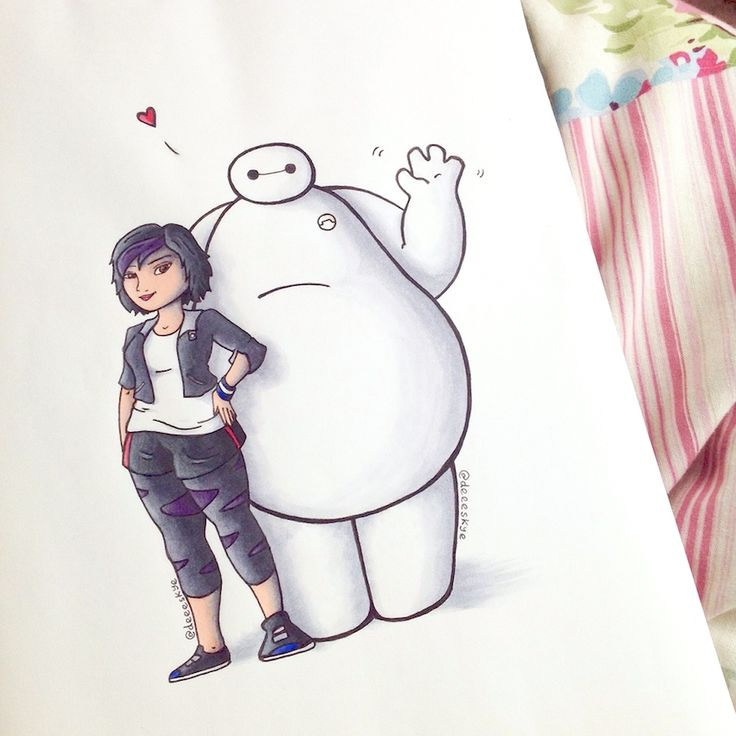 Best Baymax Images On Pinterest Baymax Big Hero And Drawings - Baymax imagined famous disney characters