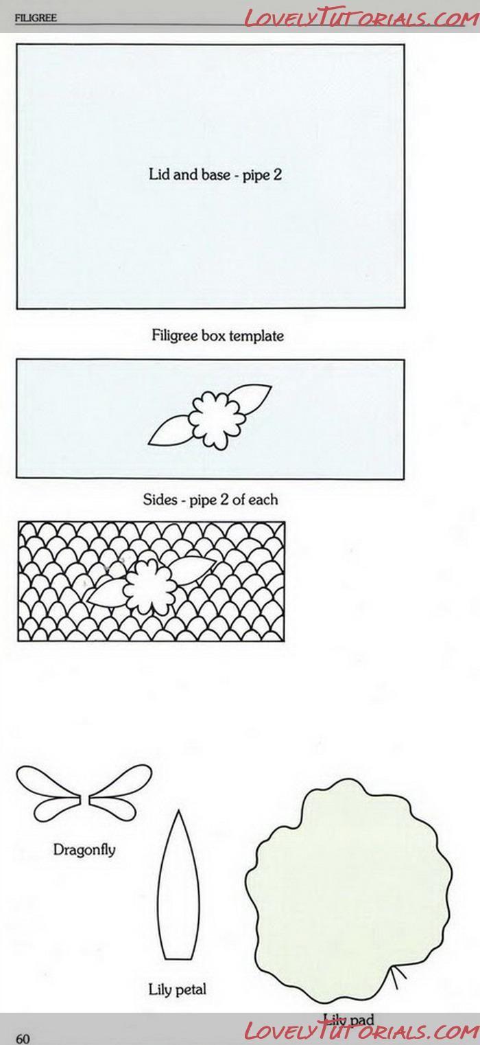 filigree template