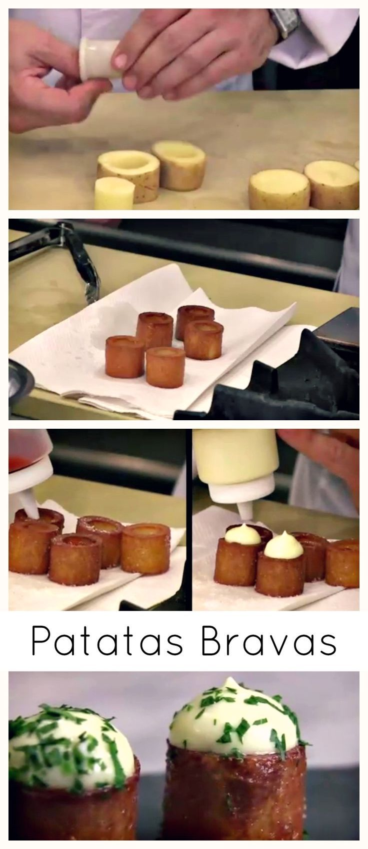 #Patatas Bravas: How To Make The #Spanish Classic #AppetizerFood: