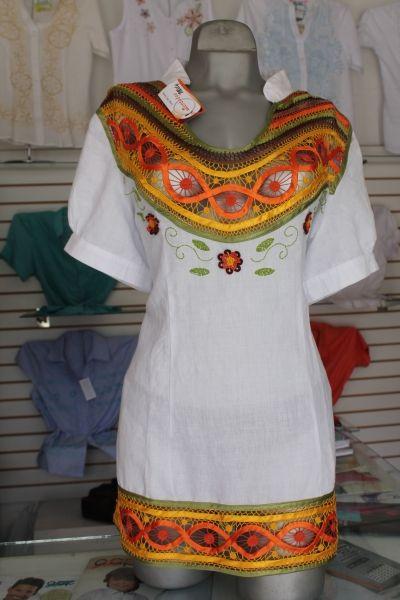 hermosa blusa bordada en distribuciones marymar - CustomersPlus4u.com - CustomersPlus4u.com