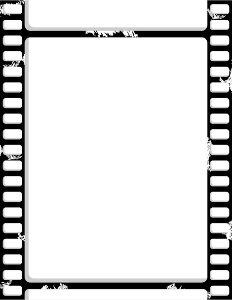 Printable film strip border. Free GIF, JPG, PDF, and PNG ...