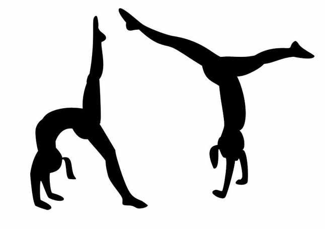 gymnastics backgrounds clipart - ClipartFest
