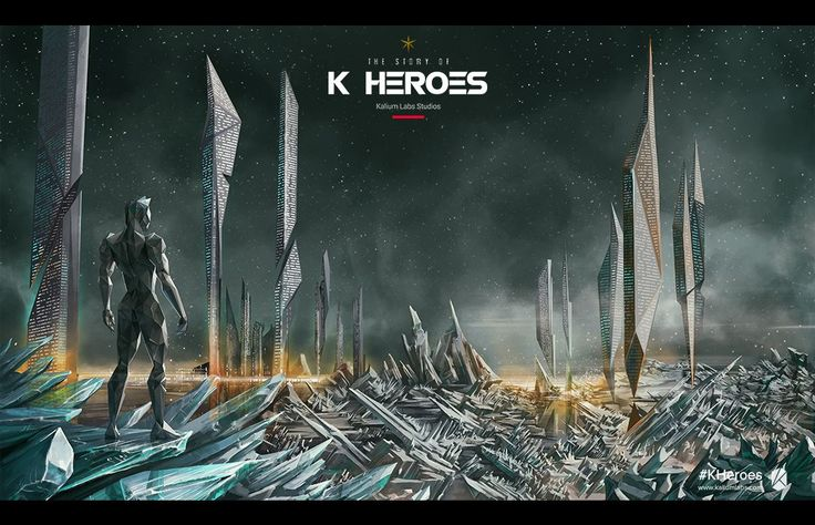 Kalium Labs proudly presents the K Heroes Concept Art Book. Win a free trip to this beautiful location by signing up to www.kaliumlabs.com. #kheroes