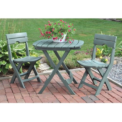 ***FREE SHIPPING*** This 3 Piece Fast Fold Outdoor Furniture