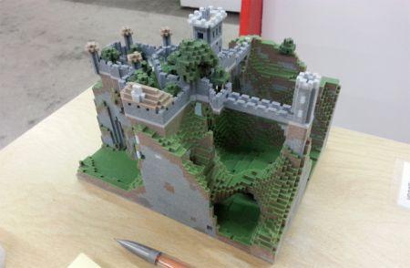Mondes Minecraft en impressions 3D