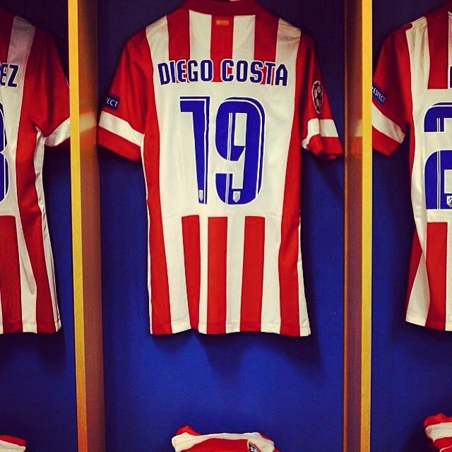 Diego Costa t-shirt is ready. Are you? #championsleague #atleticomadrid #diegocosta #realmadrid #real #atletico