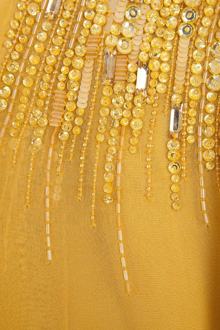 ELIE SAAB | Strapless Sequin Gown