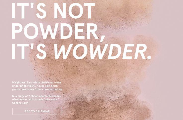 GLOSSIER WOWDER POWDER PROMO CODE
