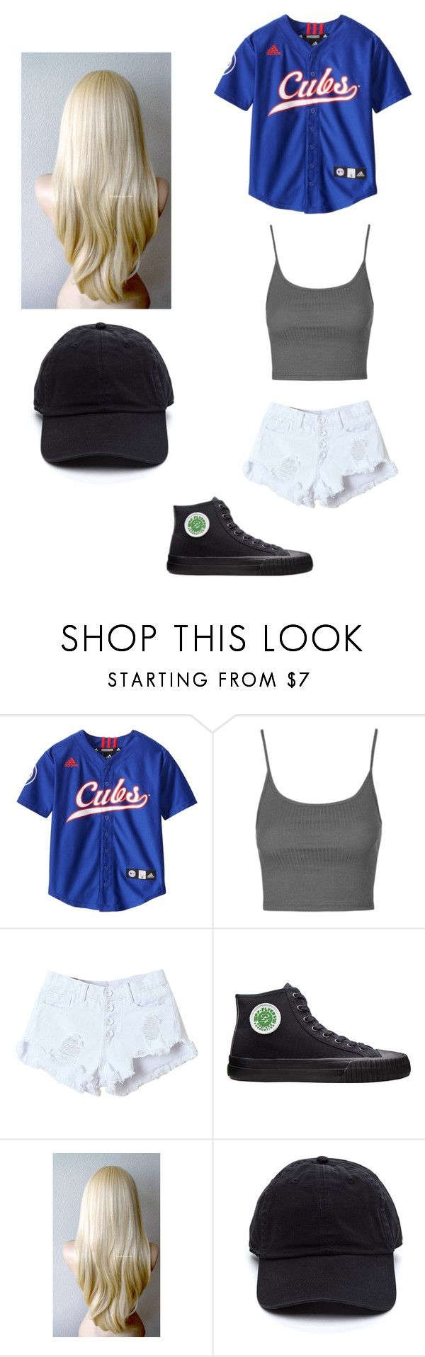 """""""Sandlot"""" by smollllbeannnn ❤ liked on Polyvore featuring Topshop and PF Flyers"""