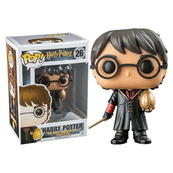 Harry Potter - Triwizard Harry Potter with Egg Pop! Vinyl Figure - ZiNG Pop Culture