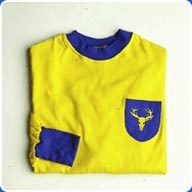 Mansfield Town 1960s Away Retro Football Shirt