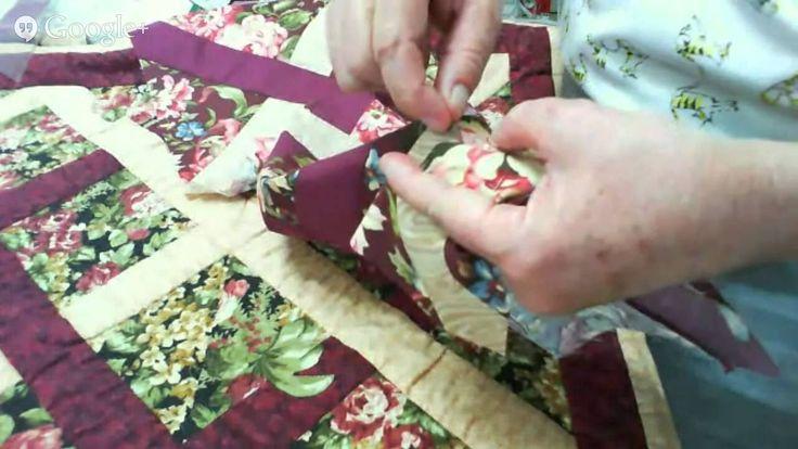 Patchwork Ao Vivo com a Tia Lili #7: Virada da Agulha (Needle Turn Appli...
