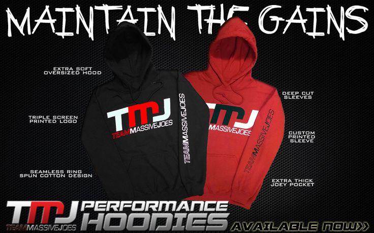 Buy Team MassiveJoes Performance Hoodie Online Australia