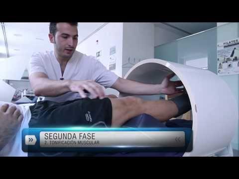 Rehabilitación ligamento cruzado anterior y menisco Recuperación LCA en piscina - YouTube