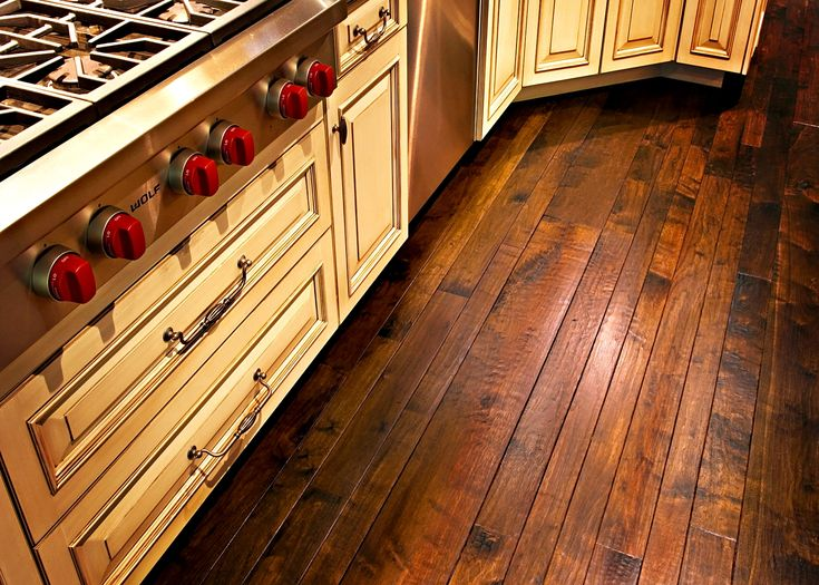 Charming Hand Scraped Hickory Flooring Remains A Favorite With Our Customers, As Do  Random Widths Which