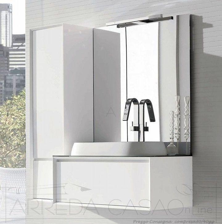 133 migliori immagini mobili bagno design bathrooms for Euro design mobili