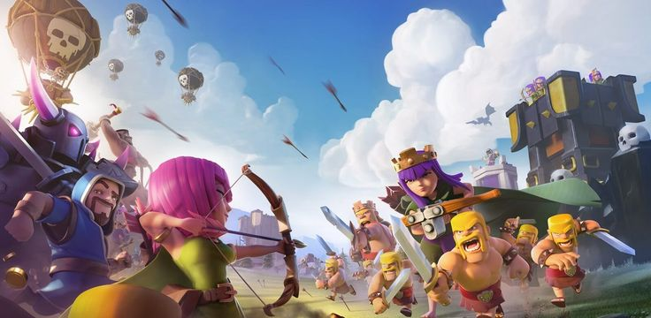 Clash Royale CoC Boom Beach Hay Day Hack all Supercell Games Free Unlimited Gems Coins Legendary Cards Decks