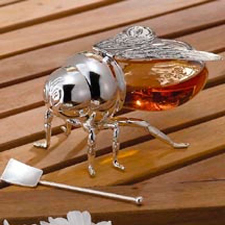 Godinger Silver Plating Bee Honey Jar Beyond The Rack