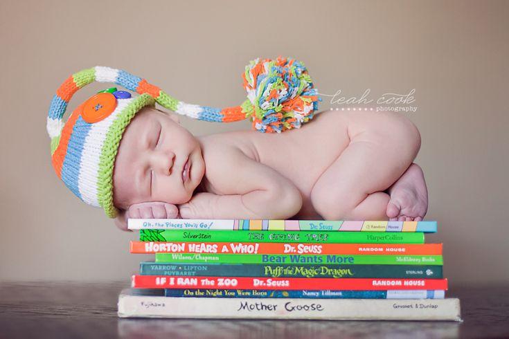 adorable newborn photo.